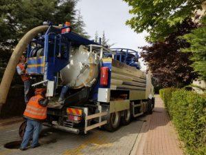 Kanal Temizliği Kombine Aracımız
